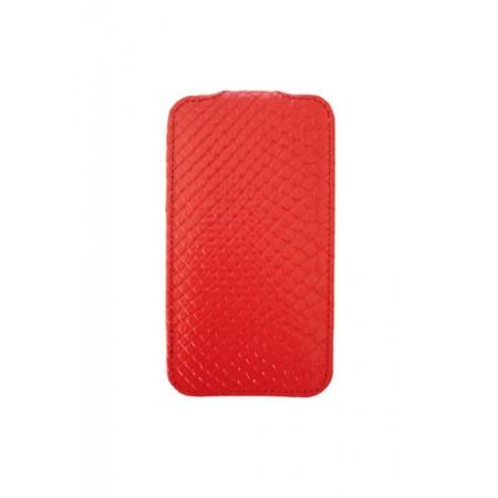 Кожаный чехол Melkco для Apple iPhone 3GS/3G - Jacka Type - змеиная кожа - красный
