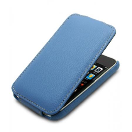 Кожаный чехол Melkco для Apple iPhone 3GS/3G - Jacka Type - голубой
