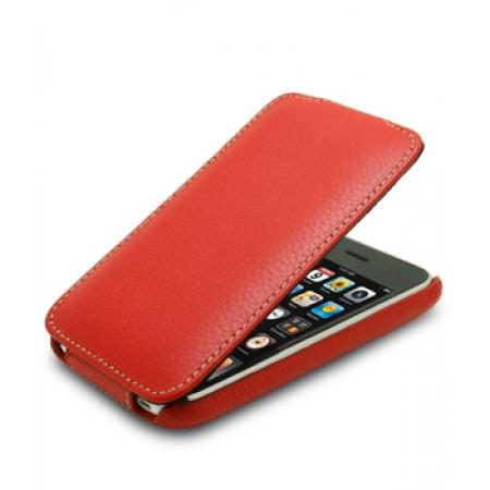 Кожаный чехол Melkco для Apple iPhone 3GS/3G - Jacka Type - красный