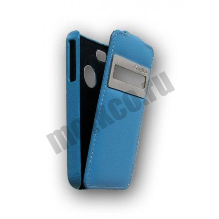 Кожаный чехол Melkco для Apple iPhone 4/4S - Jacka ID Type - синий
