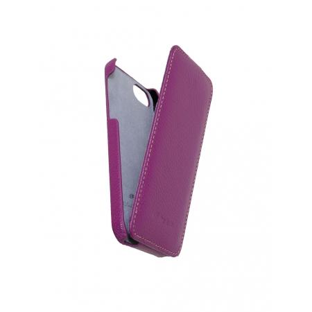 Кожаный чехол Melkco для Apple iPhone 5/5S / iPhone SE - Jacka Type - сиреневый