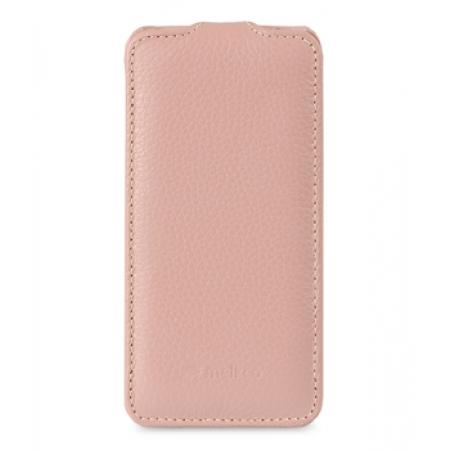 Кожаный чехол Melkco для Apple iPhone 5C - Jacka Type - розовый