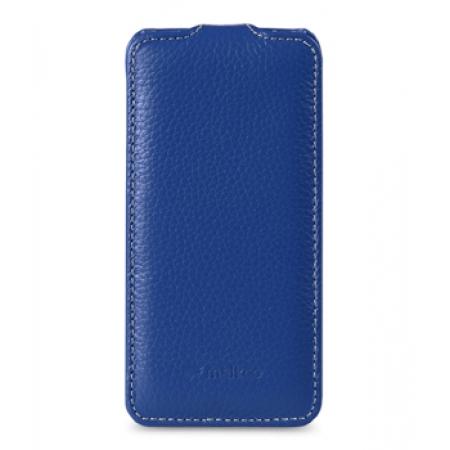 Кожаный чехол Melkco для Apple iPhone 5C - Jacka Type - темно-синий