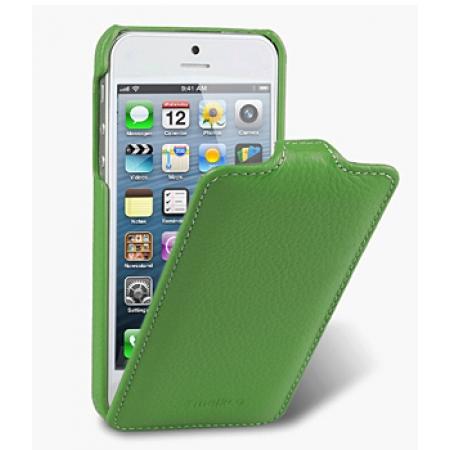 Кожаный чехол Melkco для Apple iPhone 5/5S / iPhone SE - Jacka Type - зеленый