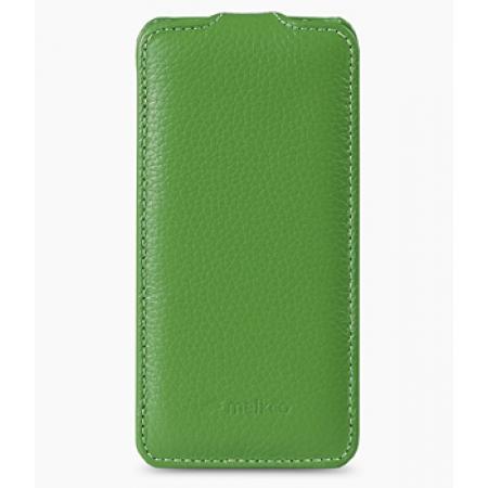 Кожаный чехол Melkco для Apple iPhone 5C - Jacka Type - зеленый