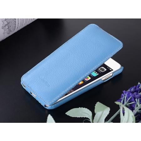"""Кожаный чехол Melkco для Apple iPhone 6/6S (4.7"""") - Jacka Type - синий"""