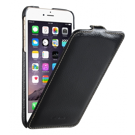 """Кожаный чехол Melkco для Apple iPhone 6/6S (4.7"""") - Jacka Type - чёрный"""