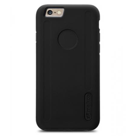 """Двухслойный противоударный чехол Melkco Kubalt Double Layer Case для Apple iPhone 6/6S Plus (5.5"""") - черный"""