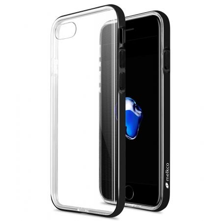 Чехол бампер Melkco Dual Layer Pro Case Special Edition для Apple iPhone 8/7 - черный матовый