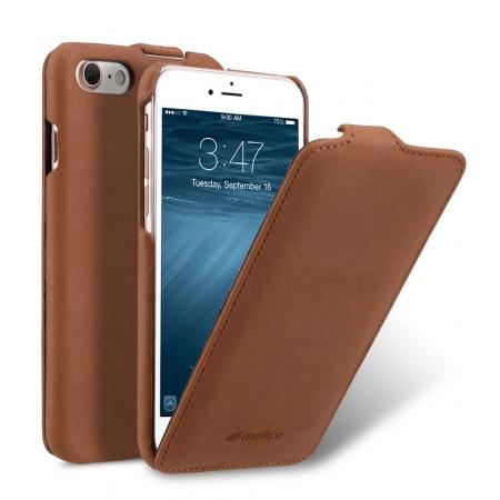Кожаный чехол Melkco для Apple iPhone 8/7 - Jacka Type - Classic Vinatge Brown - коричневый
