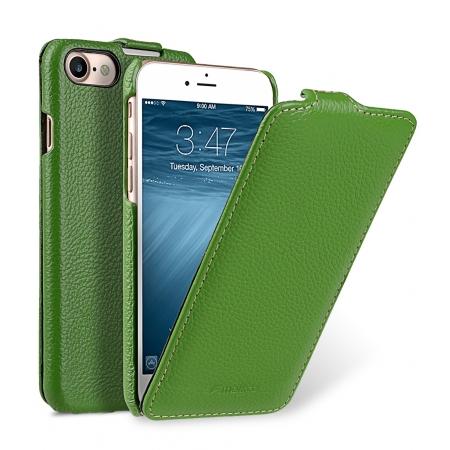 Кожаный чехол Melkco для Apple iPhone 8/7 - Jacka Type - зелёный