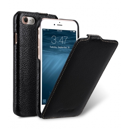 Кожаный чехол Melkco для Apple iPhone 8/7 - Jacka Type - чёрный