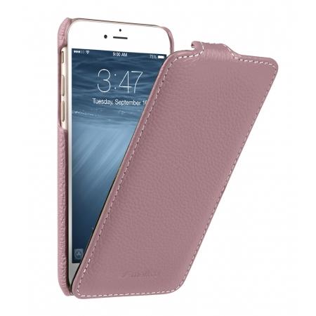 Кожаный чехол Melkco для Apple iPhone 8/7 - Jacka Type - розовый