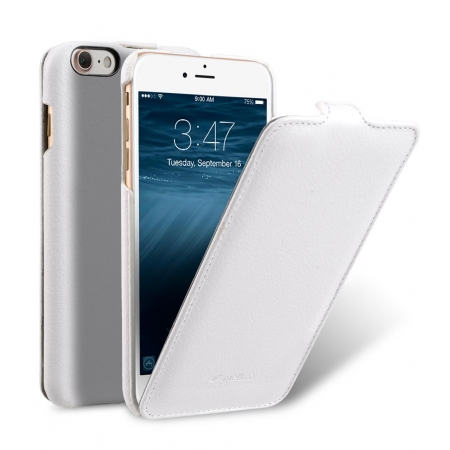Кожаный чехол Melkco для Apple iPhone 8/7 - Jacka Type - белый
