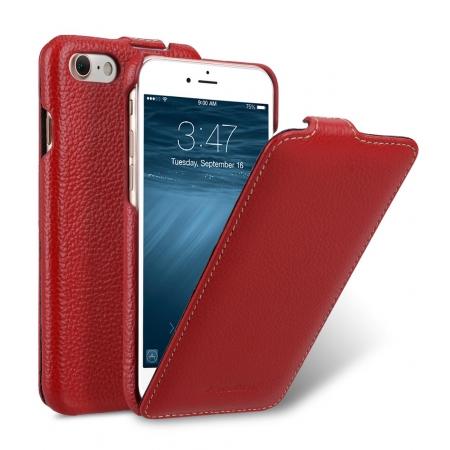 Кожаный чехол Melkco для Apple iPhone 8/7 - Jacka Type - красный