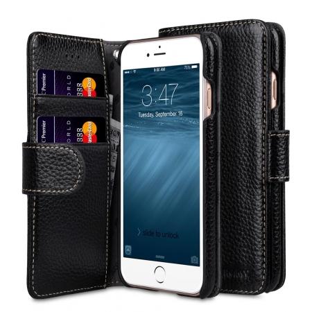 """Кожаный чехол книжка Melkco для iPhone 7/8 (4.7"""") - Wallet Book Type - черный"""