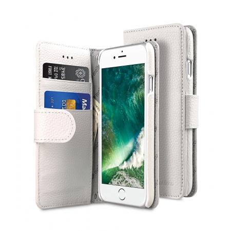 """Кожаный чехол книжка Melkco для iPhone 7/8 (4.7"""") - Wallet Book Type - белый"""