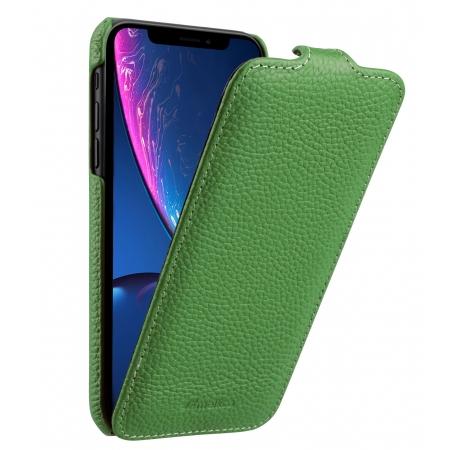 Кожаный чехол Melkco для Apple iPhone XR - Jacka Type - зеленый