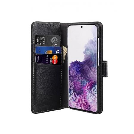 Кожаный чехол книжка Melkco для Samsung Galaxy S20 - Wallet Book Type, черный