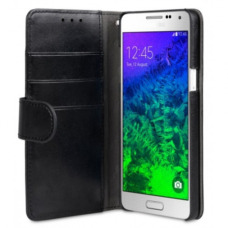 Чехол Melkco MINI PU для Samsung Galaxy A5 - Wallet Book Type - чёрный