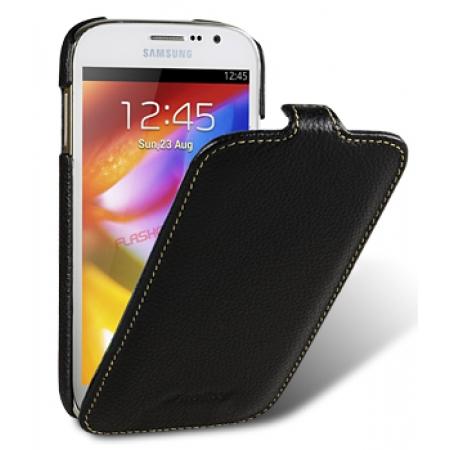 Кожаный чехол Melkco для Samsung Galaxy Grand GT-I9080/Galaxy Grand Duos GT-I9082 - Jacka Type - черный