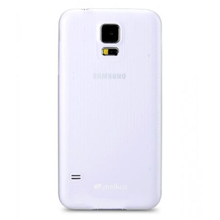 Пластиковый чехол Melkco Air PP 0.4 Cases для Samsung Galaxy S5 - прозрачный