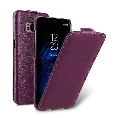 Кожаный чехол Melkco для Samsung Galaxy S8 - Jacka Type - сиреневый