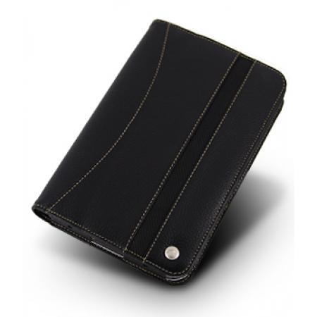 Кожаный чехол Melkco для Samsung Galaxy Tab/Tablet/P1000 - Limited Edition Book Type - черный