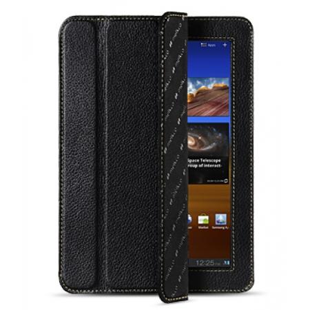 "Кожаный чехол Melkco для Samsung Galaxy Tab 7.7"" P6810/P6800 - Slimme Cover - чёрный"