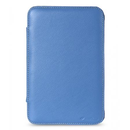 """Кожаный чехол Melkco для Samsung Galaxy Tab 2 7.0"""" Plus P3100 - Kios Type Ver.2 - синий"""