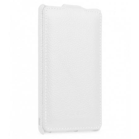Кожаный чехол Melkco для Sony Xperia Z5 Premium - Jacka Type - белый