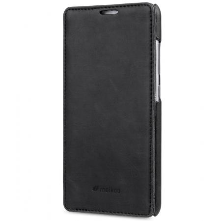 Кожаный чехол Melkco для Xiaomi Redmi Note 3 (китайская версия) - Jacka Type - чёрный
