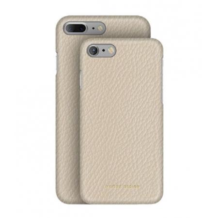 Кожаный чехол Moodz для iPhone 8/7 Floater leather Hard Eggshel - белый
