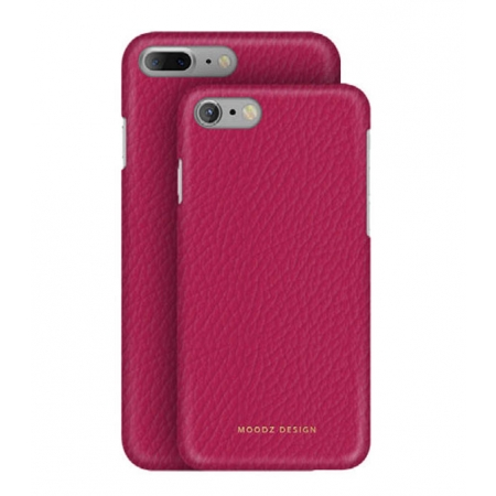 Кожаный чехол Moodz для iPhone 8 Plus/7 Plus Floater leather Hard Ciciamino - розовый