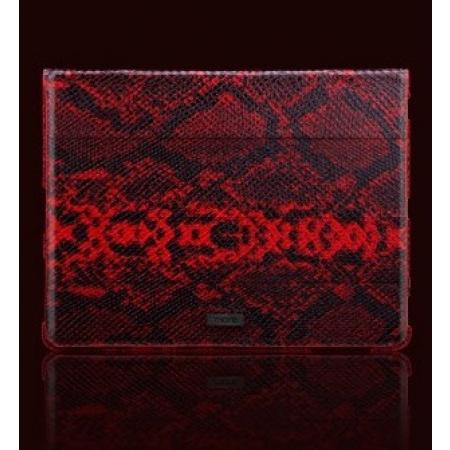 Чехол More Safara Classic Lx Collection для iPad 2 / iPad 3 / iPad 4 - кожа Питона - красный