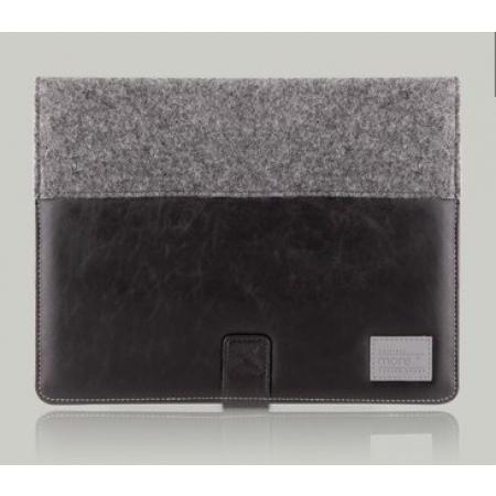 Чехол More Craft Plus для Apple iPad 3 / iPad 4 / iPad 2 - Black/Wool Felt - чёрный