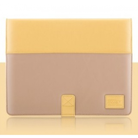 Чехол More Pastel Collection для Apple iPad 3 / iPad 4 / iPad 2 - Yellow/Dark Beige
