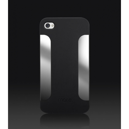 Пластиковый чехол More Para Blaze Collection для iPhone 4/4S - чёрный