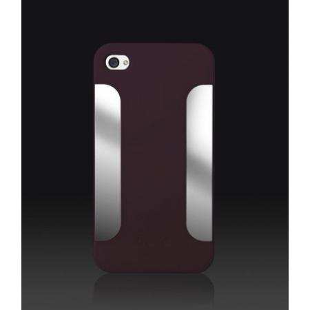 Пластиковый чехол More Para Blaze Collection для iPhone 4/4S - бордовый