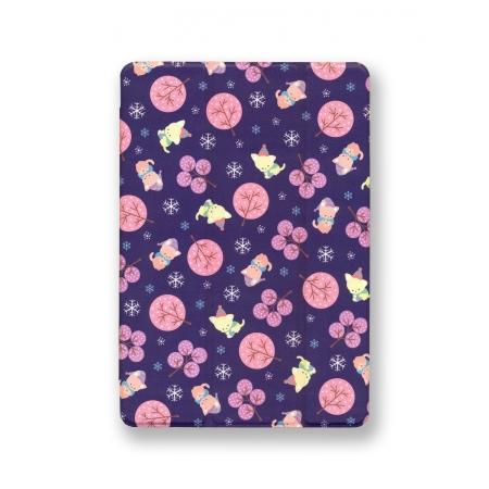 Чехол книжка Rock Anne's Garden Series для Apple iPad Air / iPad 9.7 2017/2018, фиолетовый