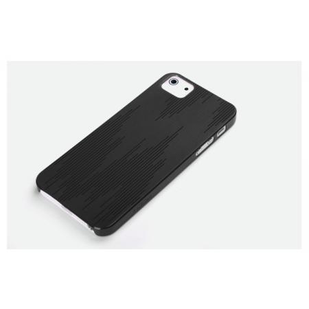 Пластиковый чехол Rock для Apple iPhone 5/5S / iPhone SE - черный