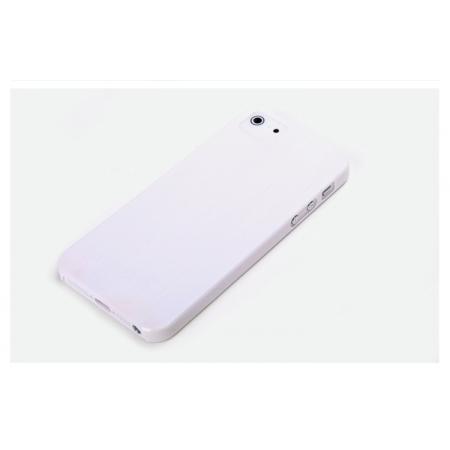 Пластиковый чехол Rock для Apple iPhone 5/5S / iPhone SE - белый