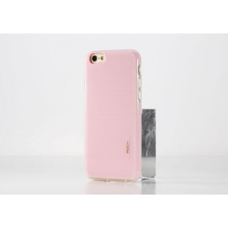 """Силиконовый чехол Rock Jello Series для Apple iPhone 6/6S (4.7"""") - розовый"""