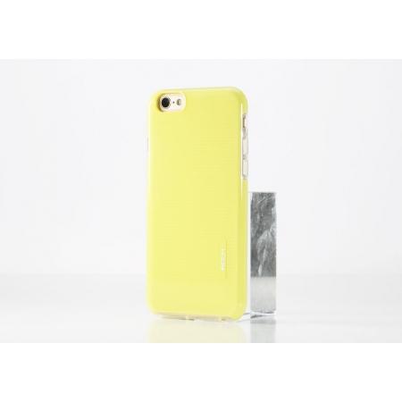 """Силиконовый чехол Rock Jello Series для Apple iPhone 6/6S (4.7"""") - желтый"""