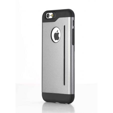 "Пластиковый чехол Rock Legend Series для Apple iPhone 6/6S (4.7"") - серый"