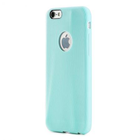 """Силиконовый чехол Rock Melody Series для Apple iPhone 6/6S (4.7"""") - лазурный"""