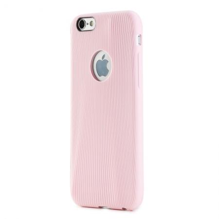 """Силиконовый чехол Rock Melody Series для Apple iPhone 6/6S (4.7"""") - розовый"""
