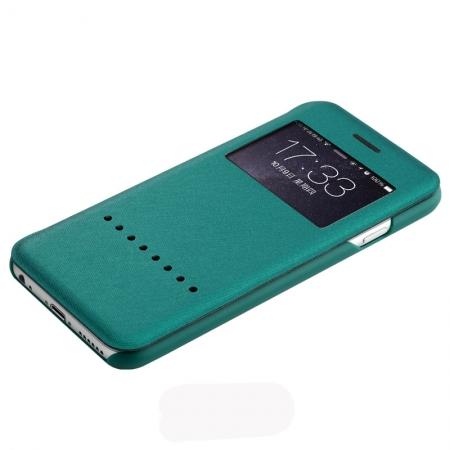 "Чехол книжка Rock Rapid Series для Apple iPhone 6/6S Plus (5.5"") - зеленый"