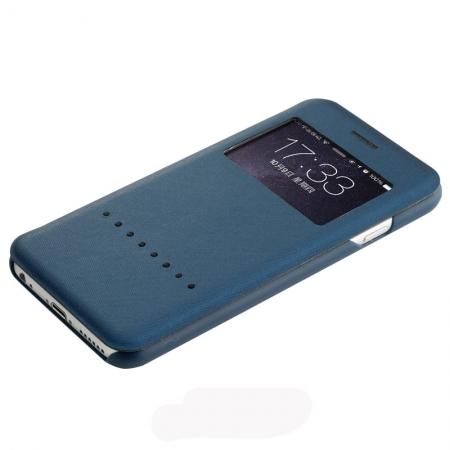 """Чехол книжка Rock Rapid Series для Apple iPhone 6/6S Plus (5.5"""") - синий"""