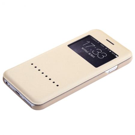 "Чехол книжка Rock Rapid Series для Apple iPhone 6/6S Plus (5.5"") - золотистый"